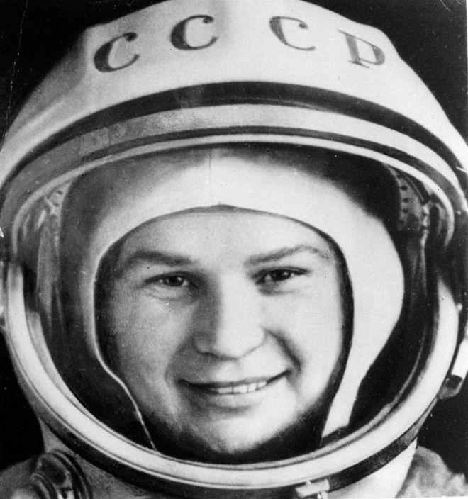 Η Βαλεντίνα Τερεσκόβα το 1963