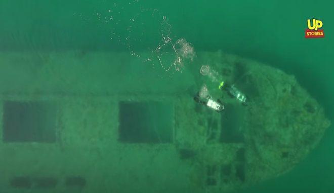 Λιχαδονήσια: Το μοναδικό ναυάγιο τσιμεντένιου πλοίου στη Μεσόγειο σε έναν επίγειο παράδεισο