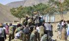 Οι αντάρτες του Αχμάντ Μασούντ στην κοιλάδα Πανσίρ