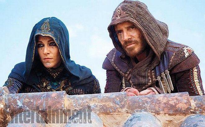 Μάικλ Φασμπέντερ και Αριάν Λαμπέντ: Πρώτη φωτογραφία 'Assassin's Creed'