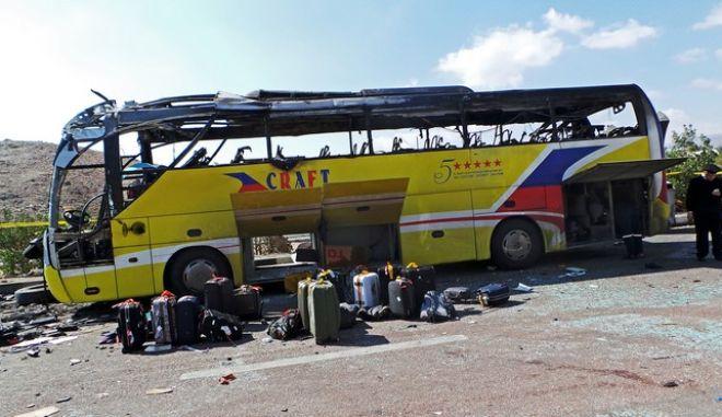 Ατύχημα με λεωφορείο στην Αίγυπτο