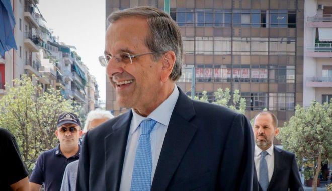 Ο πρώην πρωθυπουργός Αντώνης Σαμαράς
