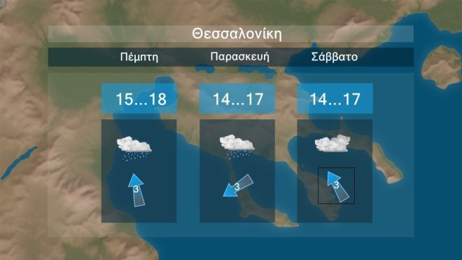 Καλοκαιρία τέλος: Βροχές και καταιγίδες το επόμενο διήμερο