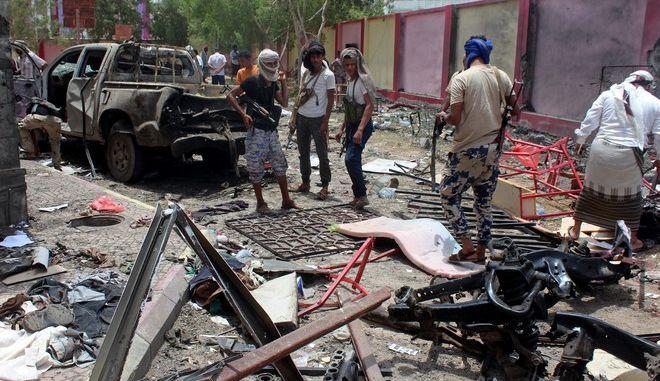 Βομβαρδισμός στην Υεμένη (φωτογραφία αρχείου)