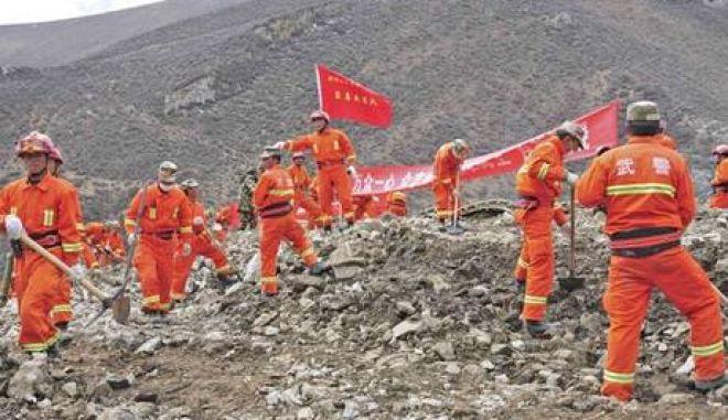 Κίνα: Παγιδευμένοι από κατολίσθηση παραμένουν 83 μεταλλωρύχοι