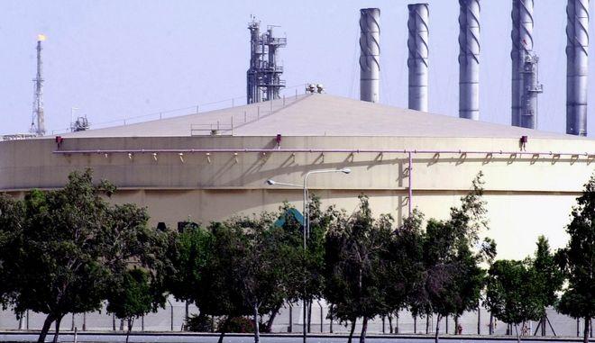 Δεξαμενή καυσίμων τηςAramco Shell στη Σαουδική Αραβία