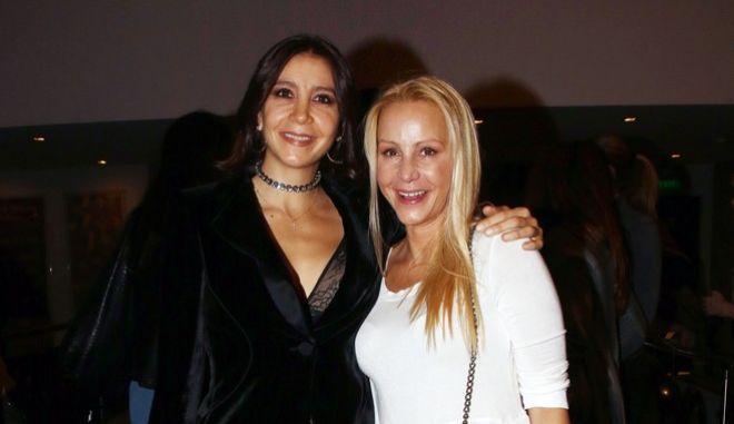 Μαρία Ελένη Λυκουρέζου και Μάρθα Κουτουμάνου (φωτογραφία αρχείου)