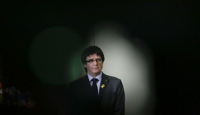 Ο πρώην ηγέτης της Καταλονίας Κάρλες Πουτζντεμόν