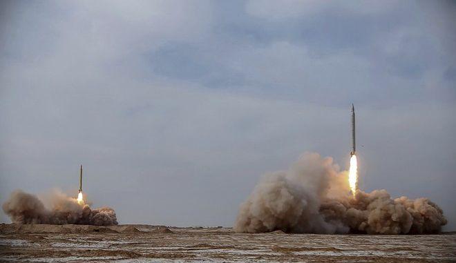 Δοκιμή βαλλιστικών πυραύλων στο Ιράν