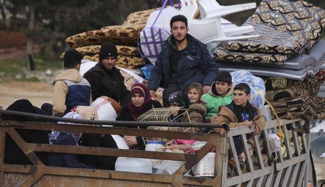 Πρόσφυγες στη Συρία