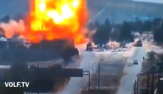 Συρία: Ρωσοτουρκική περίπολος έγινε στόχος επίθεσης με βόμβα