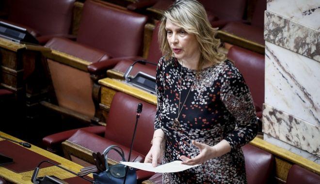 Συζήτηση επίκαιρων ερωτήσεων στην Ολομέλεια της Βουλής την Πέμπτη 15 Μαρτίου 2018. (EUROKINISSI/ΓΙΩΡΓΟΣ ΚΟΝΤΑΡΙΝΗΣ)