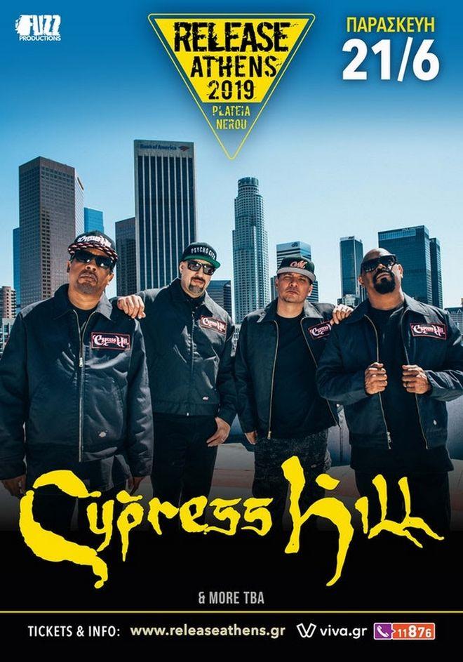 Οι Cypress Hill στο Release Athens 2019