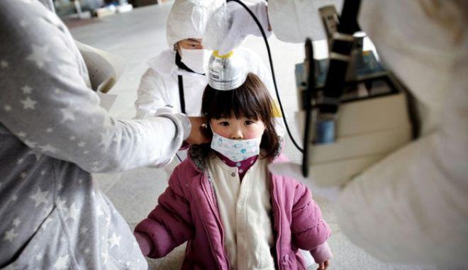 Έρευνα: Με ψυχιατρικά προβλήματα 1 στα 4 παιδιά που έζησαν την τραγωδία στη Φουκουσίμα