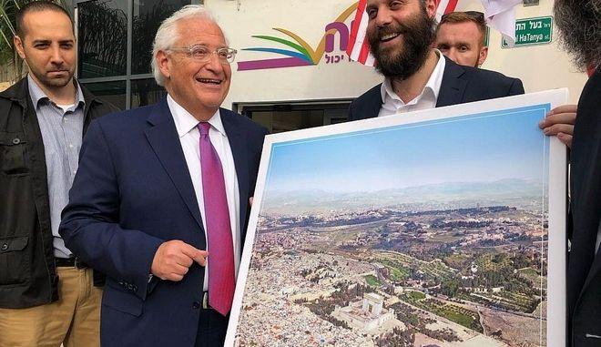 """Φωτομοντάζ για διπλωματικό επεισόδιο: """"Αγνοούνται"""" ιεροί τόποι στην Ιερουσαλήμ"""