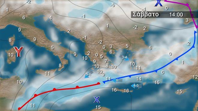 Κακοκαιρία: Επιμένουν οι χιονοπτώσεις - Έρχονται βροχές και καταιγίδες