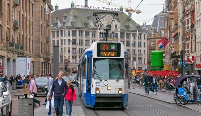 Φωτογραφία από δρόμο του Άμστερνταμ
