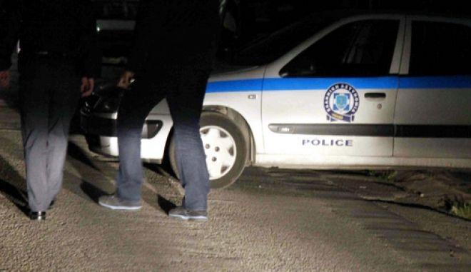 Ηλικιωμένο ζευγάρι δέχτηκε επίθεση από άγνωστο  μπροστά στο σπίτι του στο Νέο Ηράκλειο οδος Αινου 20(EUROKINISSI/ΒΑΙΟΣ ΧΑΣΙΑΛΗΣ)