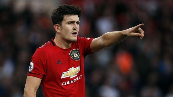 Ο αρχηγος της Manchester United Harry Maguire