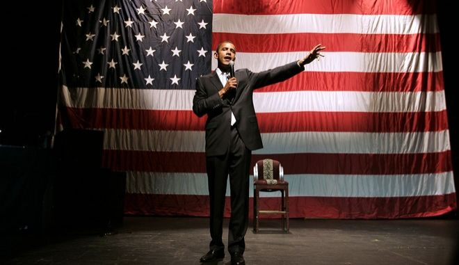 O Μπαράκ Ομπάμα λίγο πριν τις εκλογές του 2008