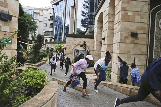 Επίθεση στο Ναϊρόμπι, την πρωτεύουσα της Κένυας.