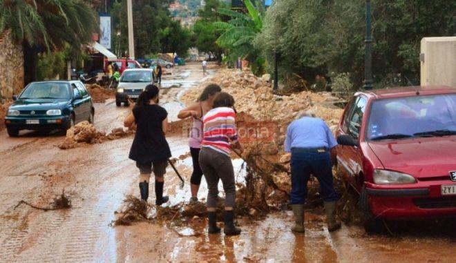 Κεφαλονιά: Στρατός και μηχανήματα για την αντιμετώπιση των φυσικών καταστροφών