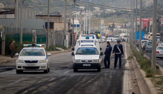 Περιπολικό αστυνομίας στον Ασπρόπυργο - Φωτογραφία αρχείου (EUROKINISSI /KOSTAS VILLA)
