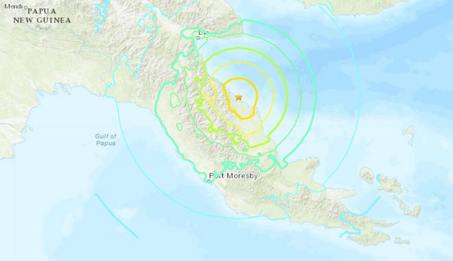 Σεισμός: 7 Ρίχτερ ανοικτά της Παπούας Νέας Γουινέας - Φόβοι για τσουνάμι