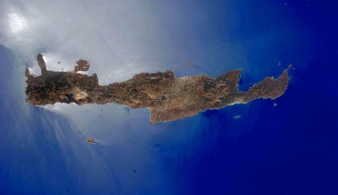 Η Κρήτη εντυπωσιάζει και από το διάστημα