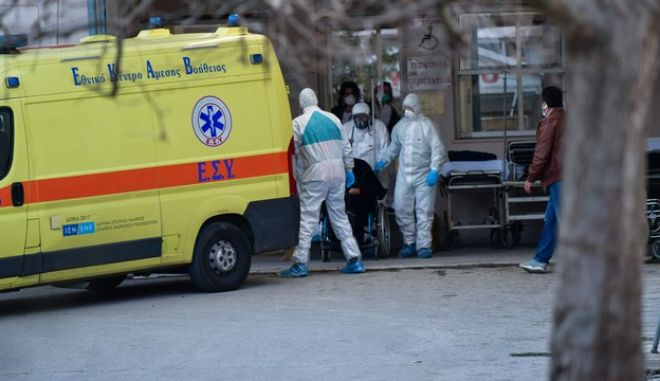 Στιγμιότυπο από το νοσοκομείο Αμαλιάδας
