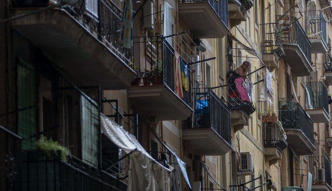 Στιμιότυπο από Lockdown στην Ισπανία