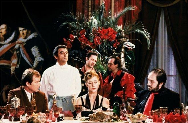 Ο Μάγειρας, ο Κλέφτης, η Γυναίκα του και ο Εραστής της (The Cook, the Thief, His Wife and Her Lover, 1989), του Πίτερ Γκρίναγουεϊ