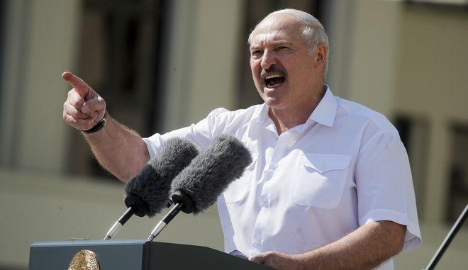 Ο ηγέτης της Λευκορωσίας Αλεξάντρ Λουκασένκο