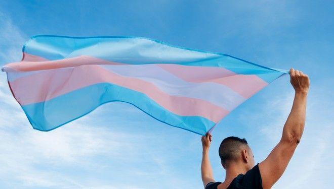 Η σημαία της τρανς κοινότητας