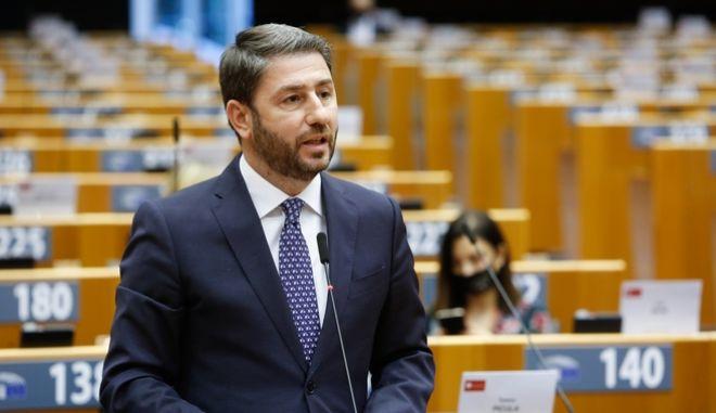 Συνεδρίαση του Ευρωπαϊκού Κοινοβουλίου για την επίσκεψη του προέδρου της Τουρκίας Τ. Ερντογάν στα Βαρώσια, την Τρίτη 24 Νοεμβρίου 2020, στις Βρυξέλλες. (EUROKINISSI/ΕΥΡΩΠΑΪΚΟ ΚΟΙΝΟΒΟΥΛΙΟ)