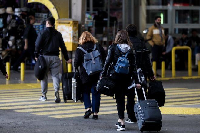 Αυξημένη η κίνηση στα ΚΤΕΛ Κηφισού για την έξοδο του Πάσχα