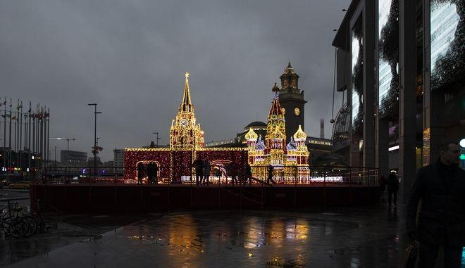Η Μόσχα.
