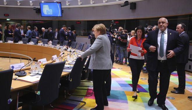 Στιγμιότυπο από τη Σύνοδο Κορυφής