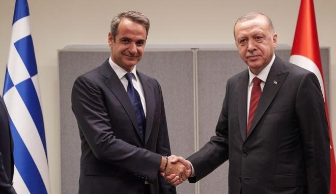 Συνάντηση του Πρωθυπουργού με τον Τούρκο Πρόεδρο την τρίτη ημερα της γενικής συνέλευσης του ΟΗΕ στις ΗΠΑ.