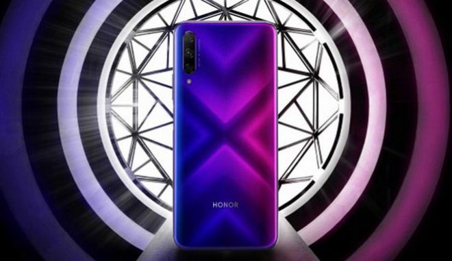Honor 9X: Πρώτη επίσημη εικόνα και τεχνικά χαρακτηριστικά