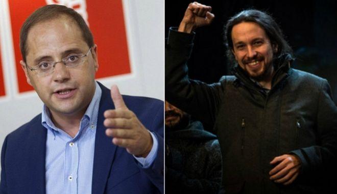 Ο ηγέτης των Podemos απορρίπτει συνεργασία με τους Σοσιαλιστές