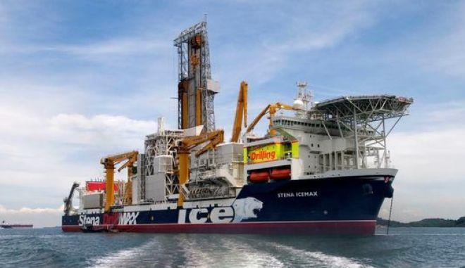 Το υπερσύγχρονο γεωτρύπανο Stena IceMax
