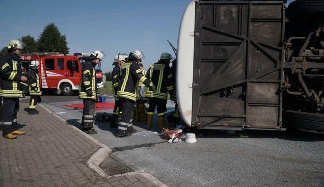Δυστύχημα με λεωφορείο (φωτογραφία αρχείου)