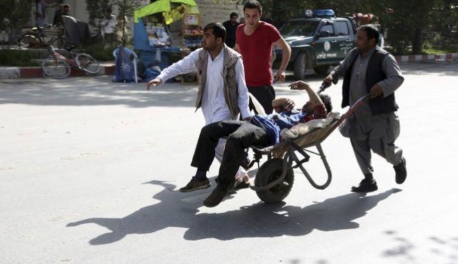 Πολύνεκρη επίθεση στην Καμπούλ