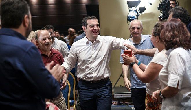 Συνεδρίαση της Κεντρικής Επιτροπής του ΣΥΡΙΖΑ.
