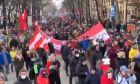 Αυστρία: Χιλιάδες πολίτες διαδήλωσαν κατά του lockdown