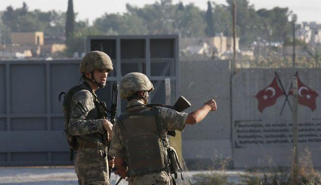 Τουρκική εισβολή στη Συρία