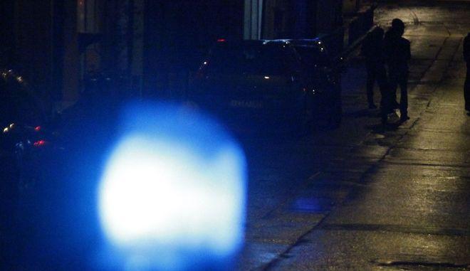 Αστυνομία βράδυ στην Αθήνα