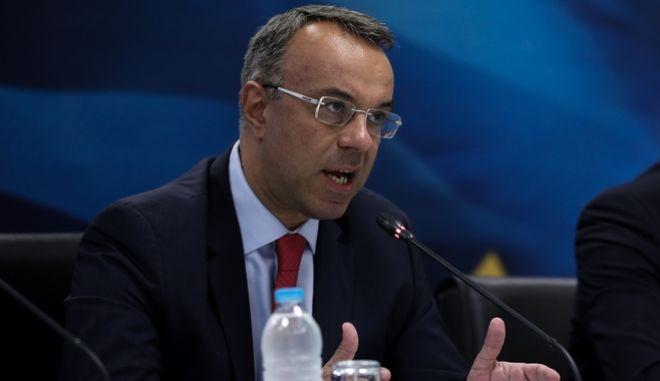 Ο Υπουργός Οικονομικών Χ.Σταϊκούρας