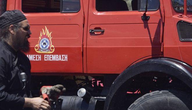 Φωτιά σε αγροτοδασική έκταση στην Κεφαλονιά